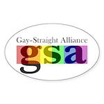 GSA Classic Oval Sticker (10 pk)