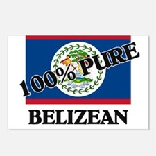 100 Percent BELIZEAN Postcards (Package of 8)