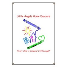 Little Angels Home Daycare Banner