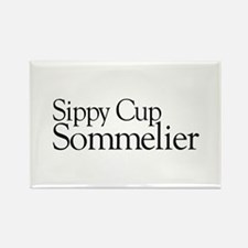 Sippy Cup Sommelier Rectangle Magnet (100 pack)