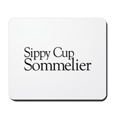 Sippy Cup Sommelier Mousepad