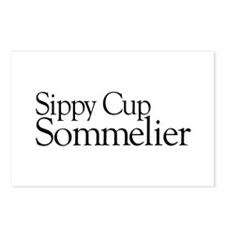 Sippy Cup Sommelier Postcards (Package of 8)