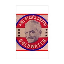 Goldwater-1 Rectangle Decal
