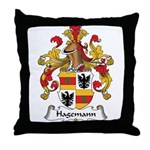 Hagemann Family Crest Throw Pillow