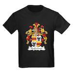 Hagemann Family Crest Kids Dark T-Shirt