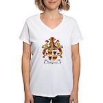 Hagemann Family Crest Women's V-Neck T-Shirt