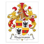 Hagemann Family Crest Small Poster
