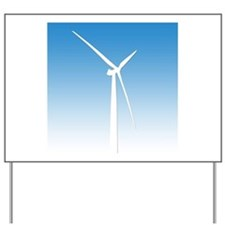 Turbine Wind Power Energy Yard Sign