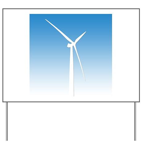 Turbine Wind Power Energy Yard Sign