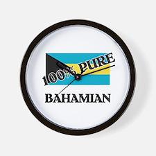 100 Percent BAHAMIAN Wall Clock