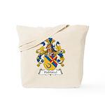 Hablutzel Family Crest Tote Bag