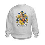 Hablutzel Family Crest Kids Sweatshirt