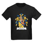 Hablutzel Family Crest Kids Dark T-Shirt