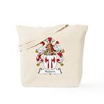 Habern Family Crest Tote Bag