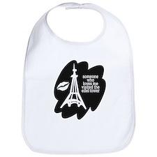 somebody loves me Eifel tower Bib