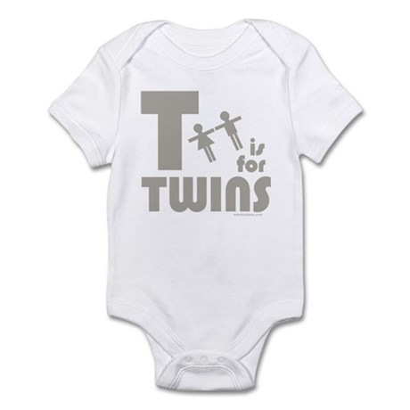 T-Is For Twins - Infant Bodysuit