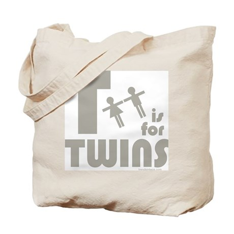T-Is For Twins - Tote Bag