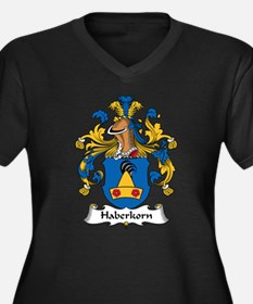 Haberkorn Family Crest Women's Plus Size V-Neck Da