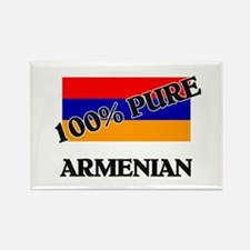 100 Percent ARMENIAN Rectangle Magnet