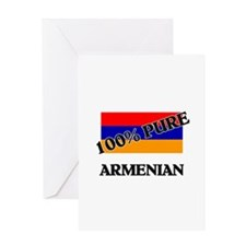 100 Percent ARMENIAN Greeting Card