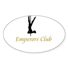Emperors Club Oval Decal