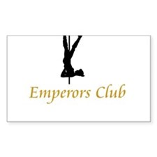 Emperors Club Rectangle Decal