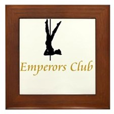 Emperors Club Framed Tile