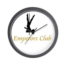 Emperors Club Wall Clock