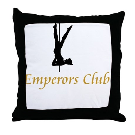 Emperors Club Throw Pillow