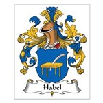 Habel Family Crest Small Poster