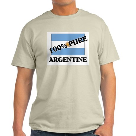 100 Percent ARGENTINE Light T-Shirt