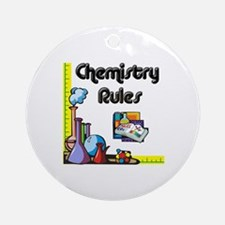 Chemistry rules Ornament (Round)