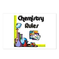 Chemistry rules Postcards (Package of 8)