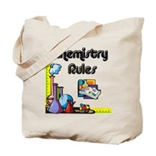 Chemistry rules Tote Bag