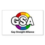 GSA ToonB Rectangle Sticker 10 pk)