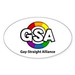 GSA ToonB Oval Sticker (10 pk)