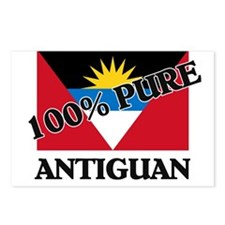 100 Percent ANTIGUAN Postcards (Package of 8)