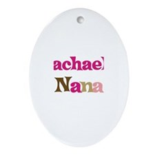Rachael's Nana Oval Ornament