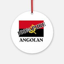 100 Percent ANGOLAN Ornament (Round)