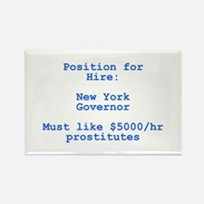 Spitzer: Position for Hire Rectangle Magnet (100 p