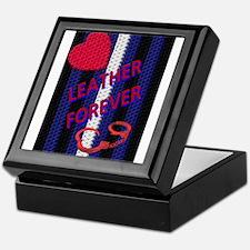 BRAIDED LEATHER 4EVER/VERTICA Keepsake Box