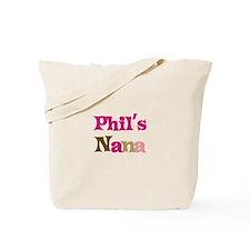 Phil's Nana Tote Bag