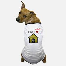 Beware of Twins Dog T-Shirt