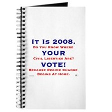 It Is 2008 VOTE Journal
