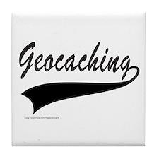 GEOCACHING Tile Coaster