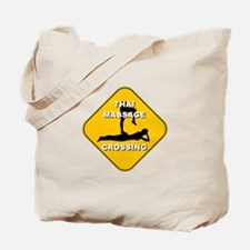Thai Massage Crossing Tote Bag