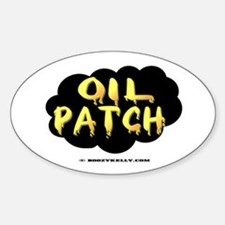 Oil Patch Oval Decal