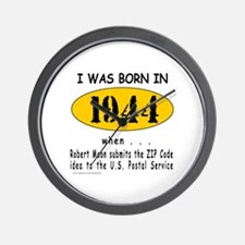 BORN IN 1944 Wall Clock
