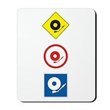 DJ Traffic Mousepad