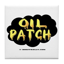 Oil Patch Tile Coaster